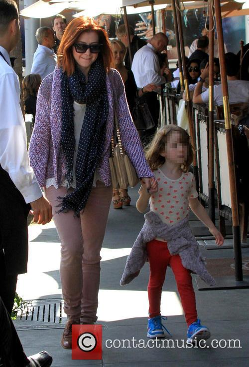 Alyson Hannigan and Satyana Marie Denisof 11