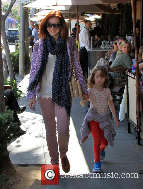Alyson Hannigan and Satyana Marie Denisof 13