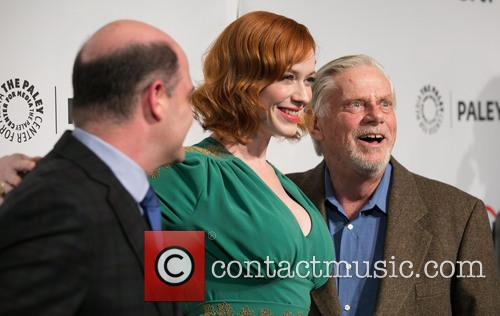 Matthew Weiner, Christina Hendricks and Robert Morse 1