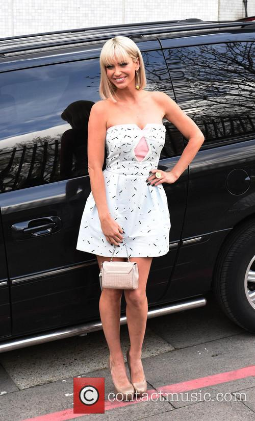 Sarah Harding Leaving Itv Studios London