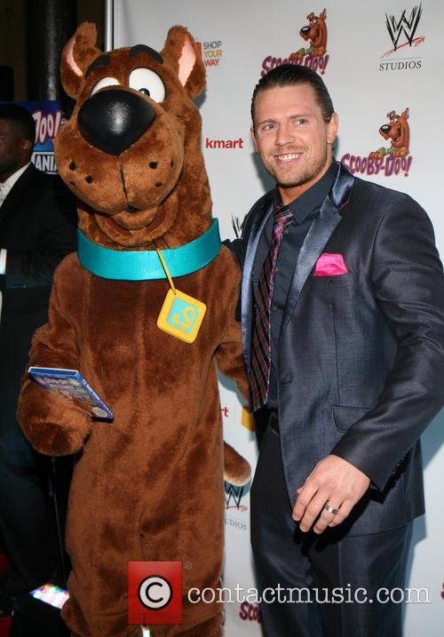 Scooby Doo, The Miz and Michael Mizanin 3