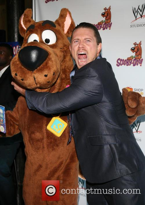 Scooby Doo, The Miz and Michael Mizanin 8