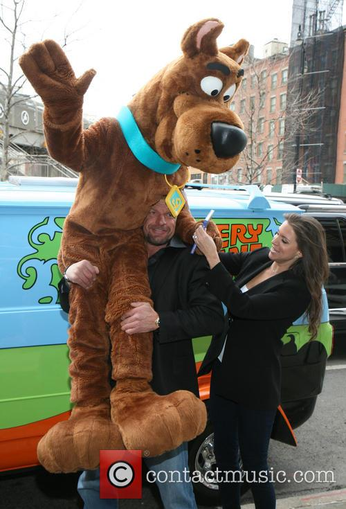 Scooby Doo, Triple H, Stephanie Mcmahon and Paul Michael Levesque 5