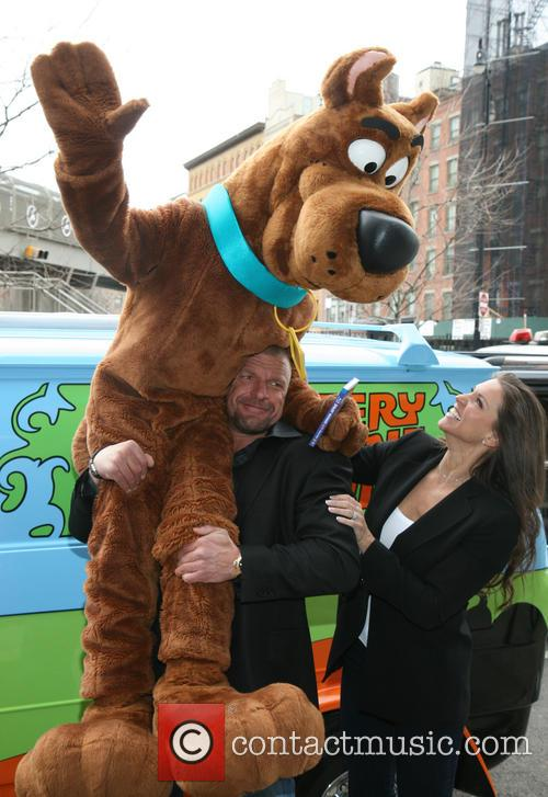 Scooby Doo, Triple H, Stephanie Mcmahon and Paul Michael Levesque 10