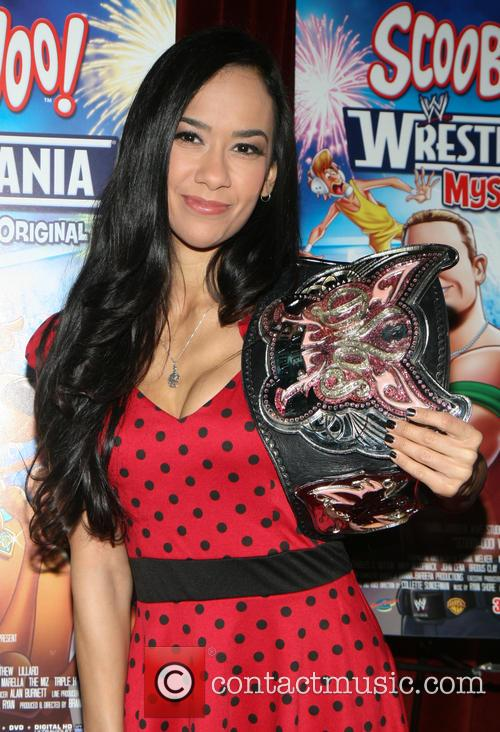 Wwe Diva Aj Lee and April Jeanette Mendez 4