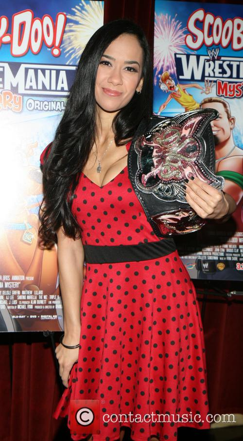 Wwe Diva Aj Lee and April Jeanette Mendez 5