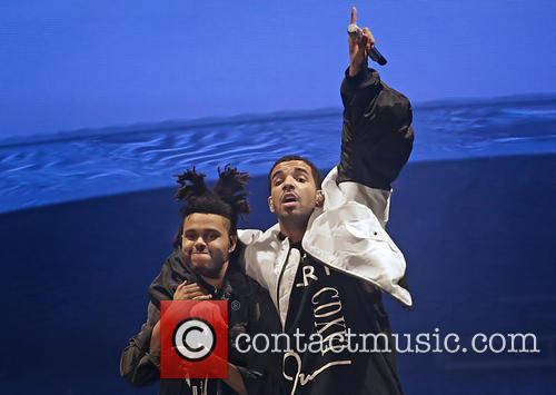 Drake performs live