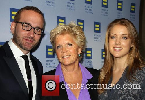 Chad Griffin, Meredith Baxter, Mollie Birney, JW Marriott Los Angeles at L.A. LIVE
