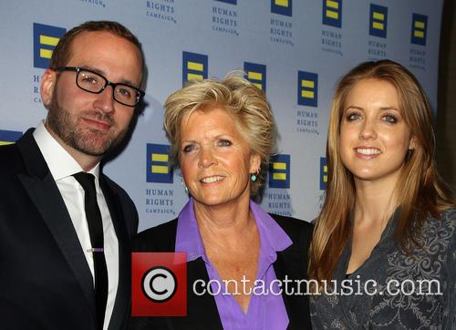 Meredith Baxter, Chad Griffin and Mollie Birney 2