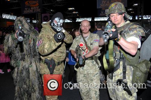 Birmingham MCM Comic Con - Day 1