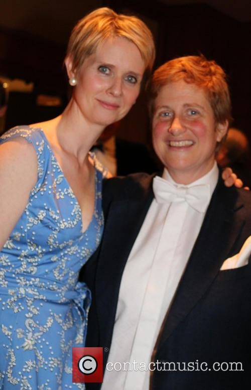 Cynthia Nixon and Christine Marinoni 2