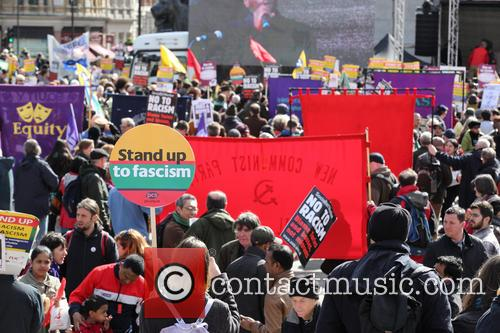Large March In London By Trade Unionists and Uaf To Protest Racism. 3