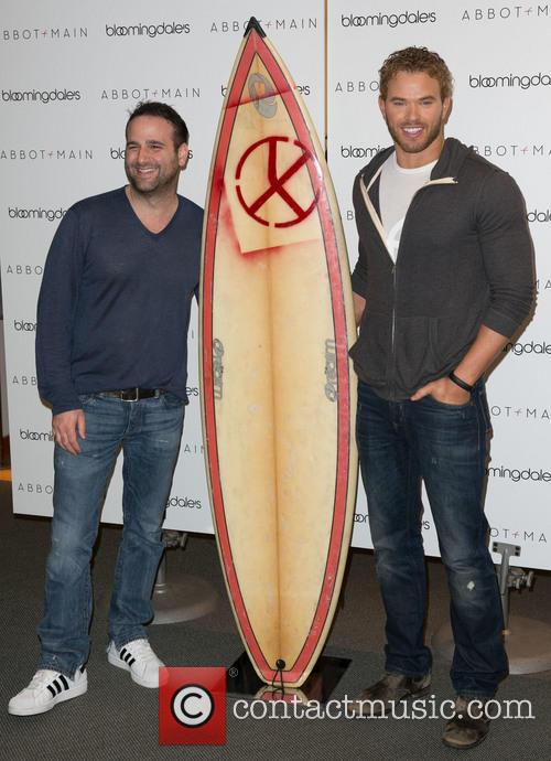 Danny Guez and Kellan Lutz 1