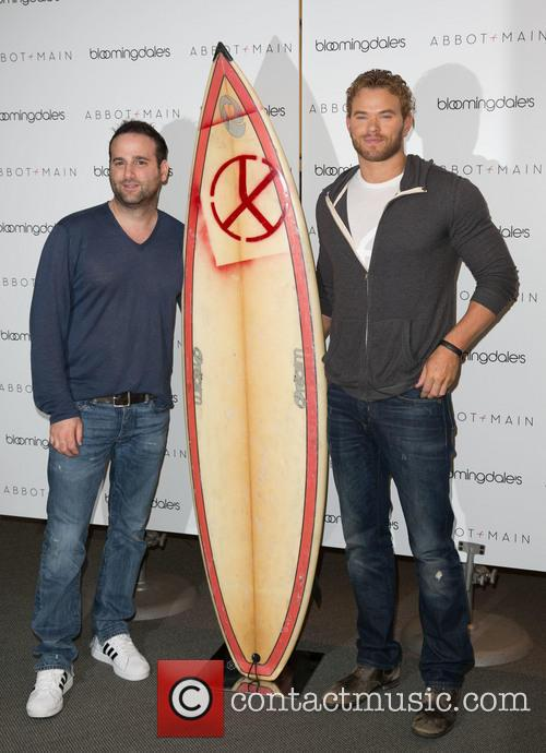 Danny Guez and Kellan Lutz 2