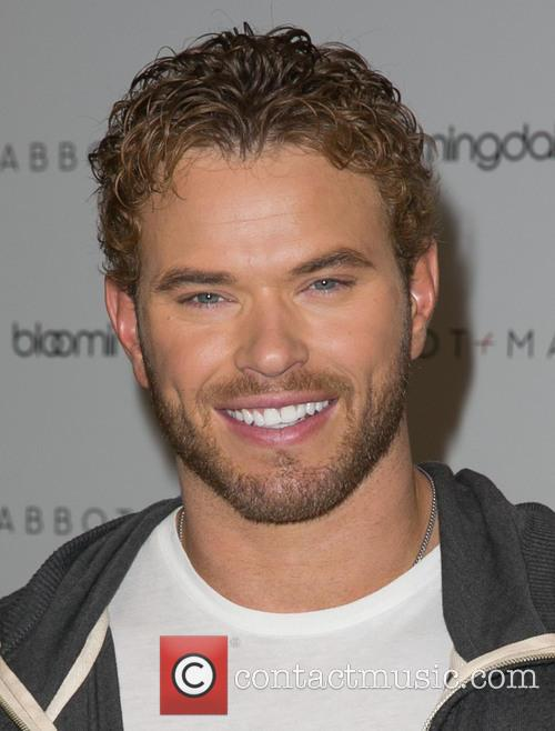 Kellan Lutz attends the launch of the Abbot...