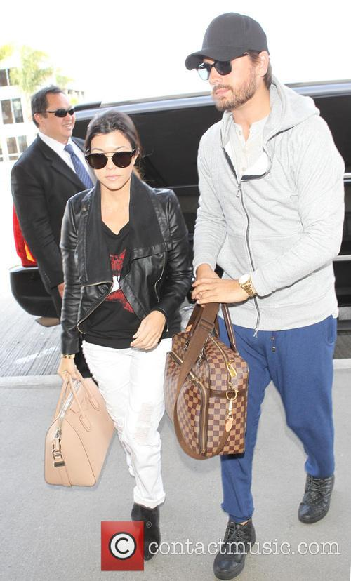 Kourtney Kardashian and Scott Disick 6