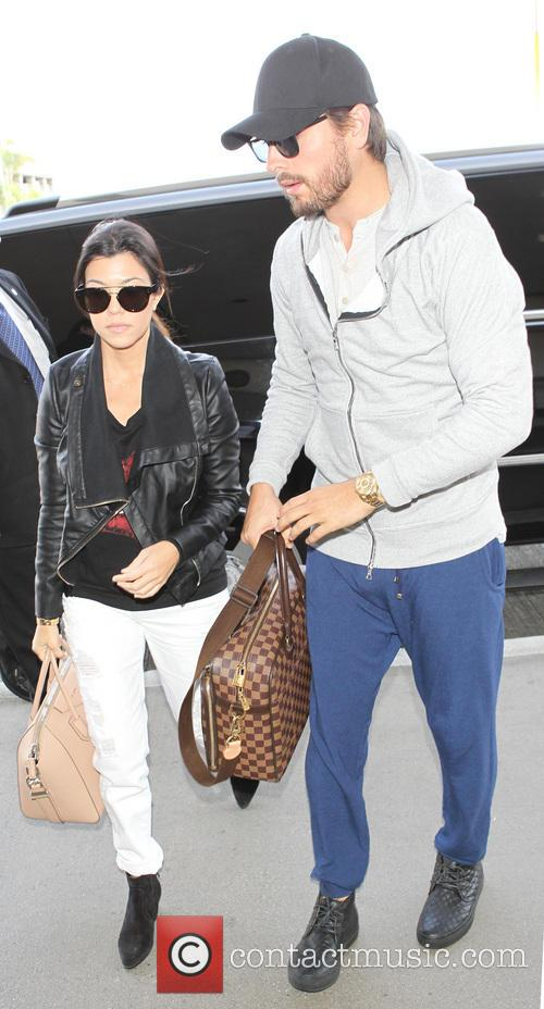 Kourtney Kardashian and Scott Disick 1