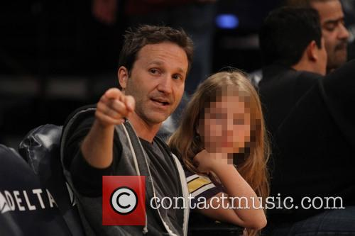 Breckin Meyer and Caitlin Willow Meyer 4