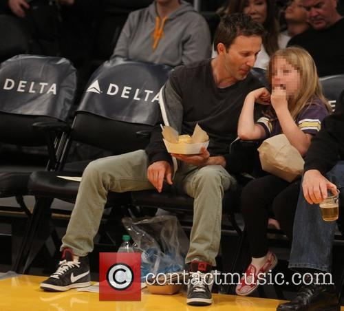 Breckin Meyer and Caitlin Willow Meyer 7