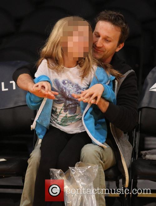 Breckin Meyer and Caitlin Willow Meyer 8