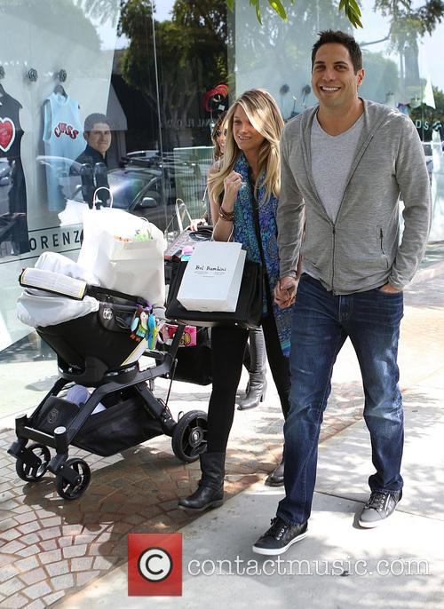 Mario Lopez And Joe Francis Go Shopping With...