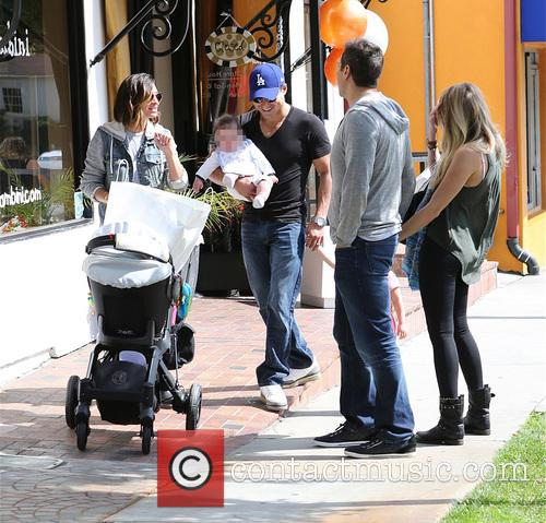 Mario Lopez, Joe Francis, Abbey Wilson, Courtney Mazza and Dominic Lopez 7