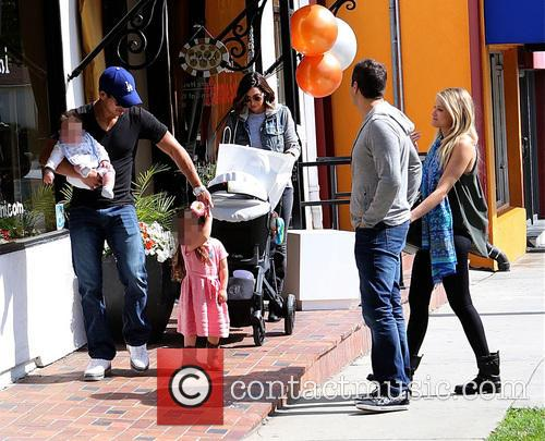 Mario Lopez, Joe Francis, Abbey Wilson, Courtney Mazza, Gia Lopez and Dominic Lopez 3