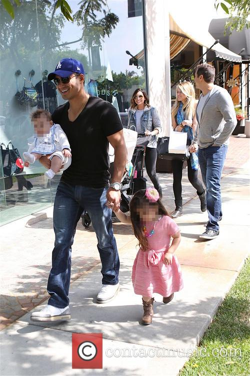 Mario Lopez, Joe Francis, Abbey Wilson, Courtney Mazza, Gia Lopez and Dominic Lopez 9