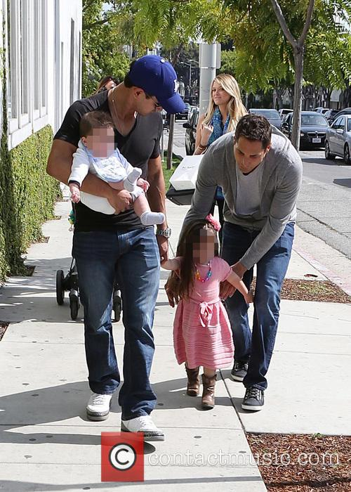 Mario Lopez, Joe Francis, Abbey Wilson, Gia Lopez and Dominic Lopez 5