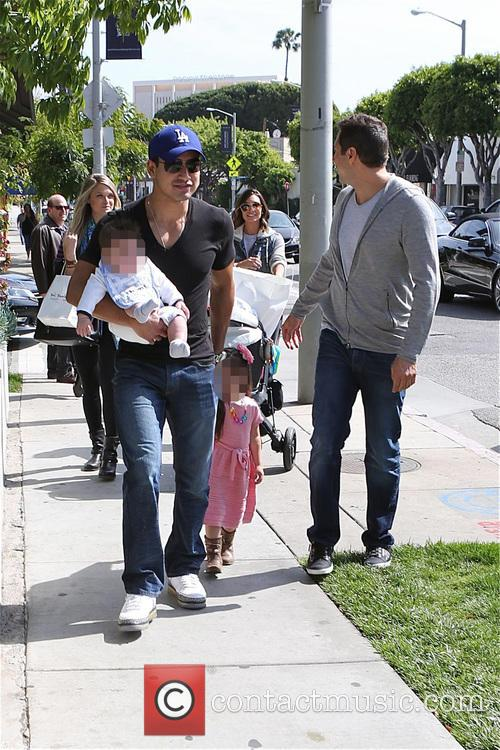 Mario Lopez, Joe Francis, Abbey Wilson, Gia Lopez and Dominic Lopez 8