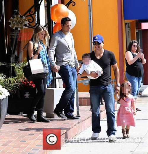 Mario Lopez, Joe Francis, Abbey Wilson, Gia Lopez and Dominic Lopez 1