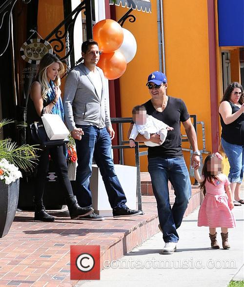Mario Lopez, Joe Francis, Abbey Wilson, Gia Lopez and Dominic Lopez 4