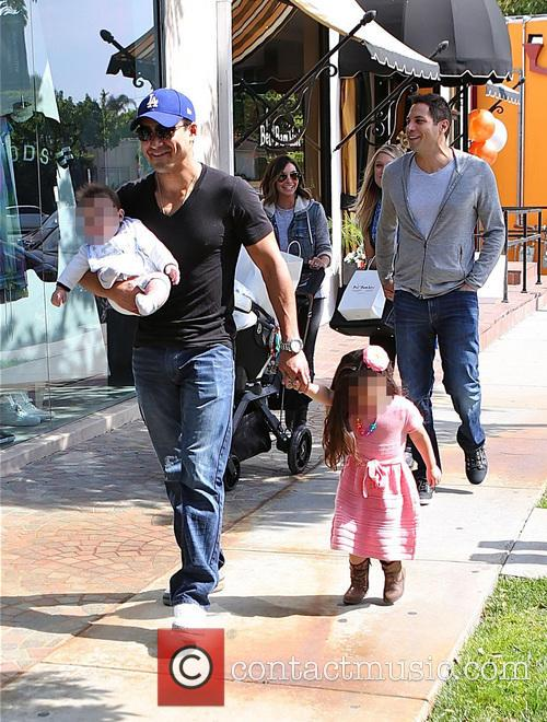 Mario Lopez, Joe Francis, Courtney Mazza, Gia Lopez and Dominic Lopez 4