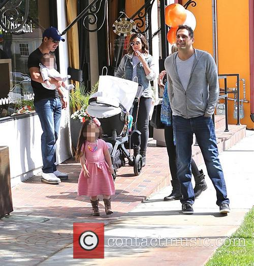 Mario Lopez, Joe Francis, Courtney Mazza, Gia Lopez and Dominic Lopez 10