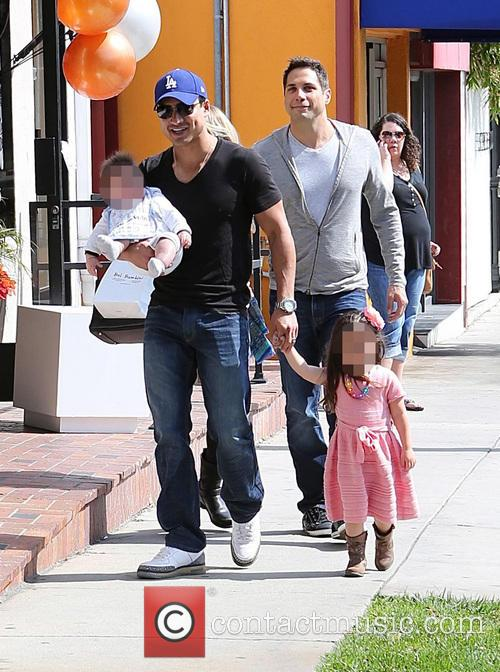 Mario Lopez, Joe Francis, Gia Lopez and Dominic Lopez 11