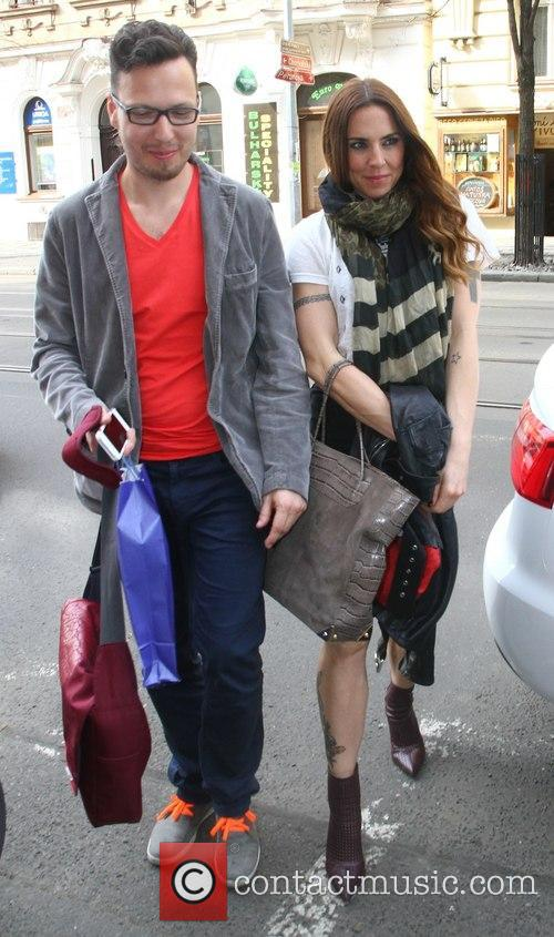 Mel C and Peter Aristone 8