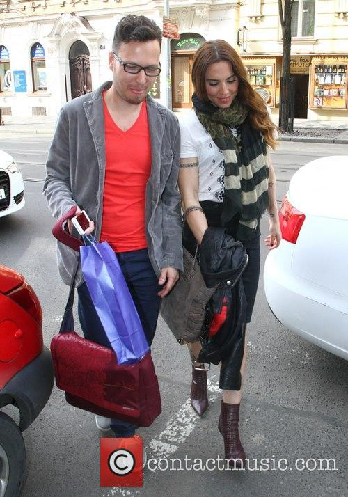 Mel C and Peter Aristone 11