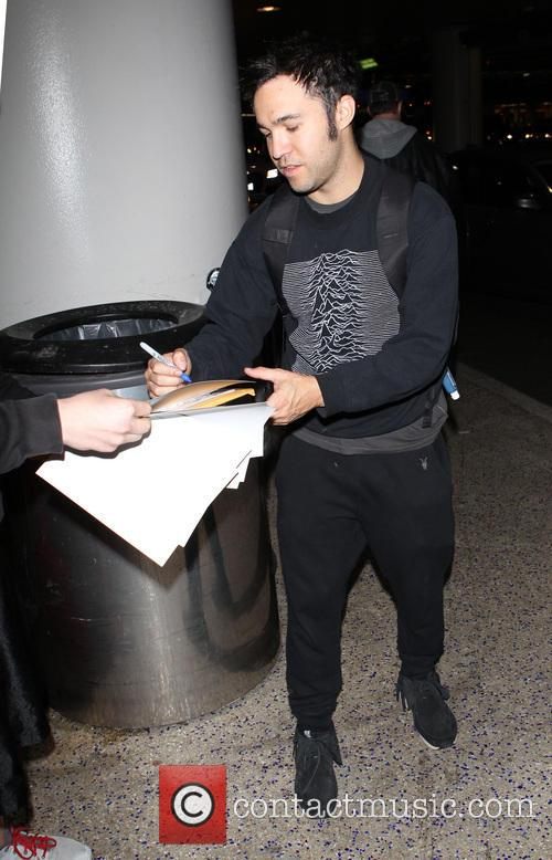 Pete Wentz At LAX