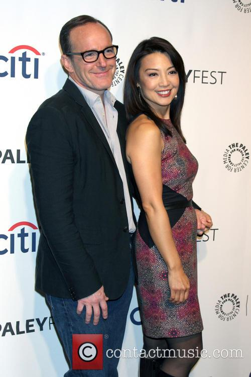 Clark Gregg and Ming-Na Wen 1