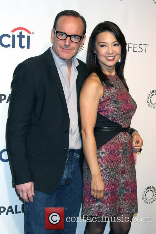 Clark Gregg and Ming-Na Wen 2