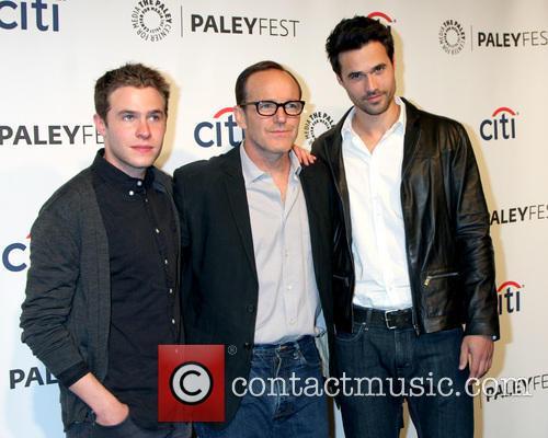 Ian De Caestecker, Clark Gregg and Brett Dalton 4