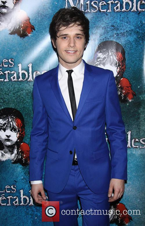 Les Miserables, Andy Mientus, Imperial Theatre,, Imperial Theatre