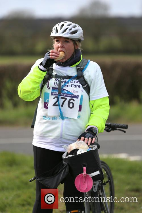 Fern Britton Undertakes The Chilterns Cycle Challenge 4