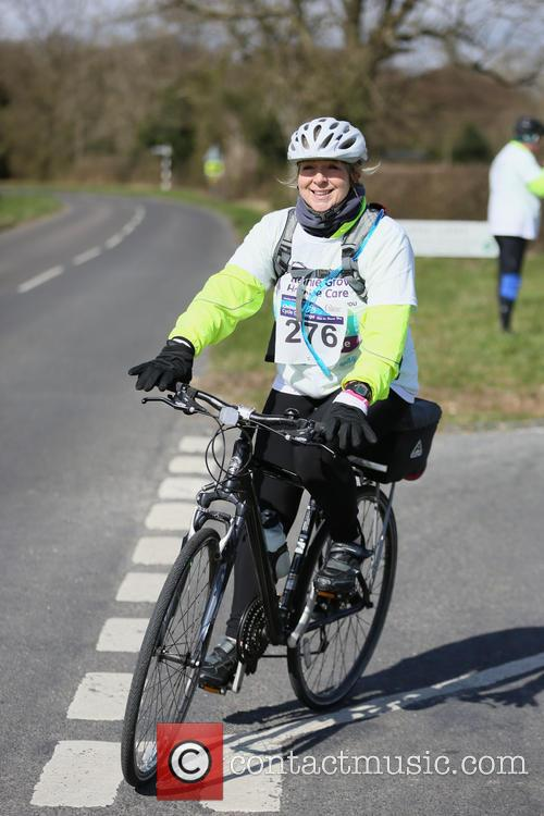Fern Britton Undertakes The Chilterns Cycle Challenge 9