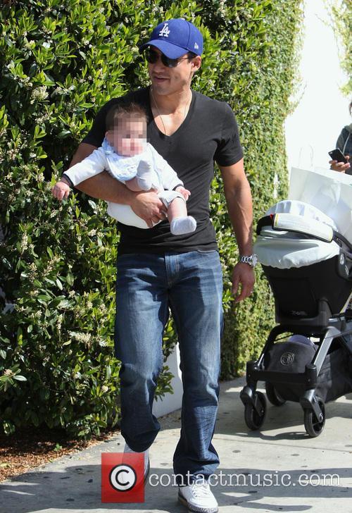 Mario Lopez And Family Go Shopping