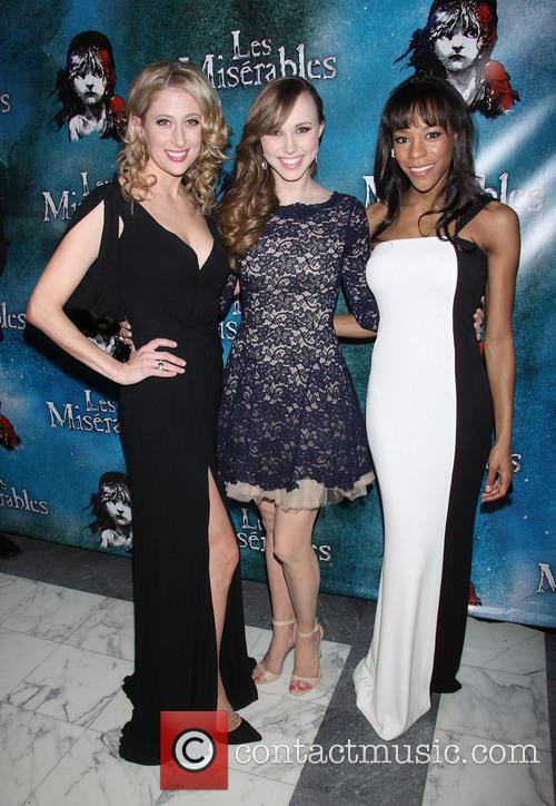 Les Miserables, Caissie Levy, Samantha Hill and Nikki M. James