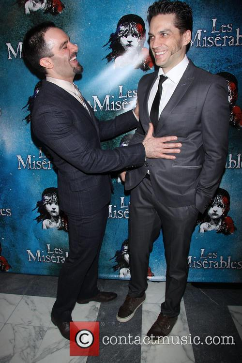 Les Miserables, Ramin Karimloo and Will Swenson 9