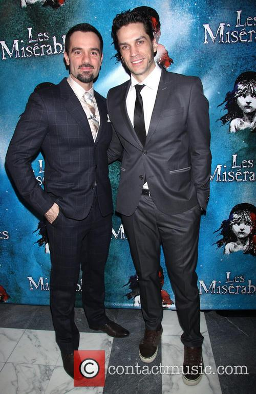 Les Miserables, Ramin Karimloo and Will Swenson 3