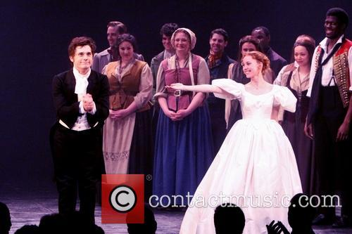 Les Miserables, Andy Mientus and Samantha Hill 2