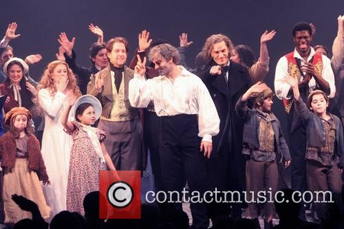 Les Miserables, Caissie Levy, Anfrew Kober, Ramin Karimloo, Will Swenson and Gaten Matarazzo 8